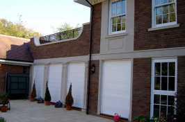 white roller shutters