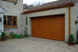 residential roller garage door