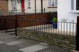 front garden railing