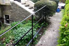 garden handrail
