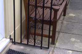 front door hand rail