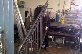 eales making a bespoke railing
