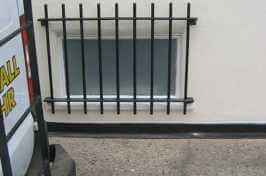 outdoor window security bars