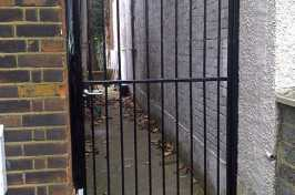 outdoor security gate