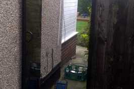 open side gate