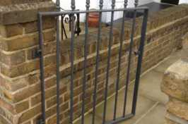 small front garden gate