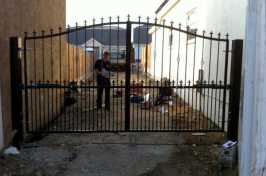 installing new double gate