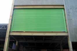 second storey security shutters