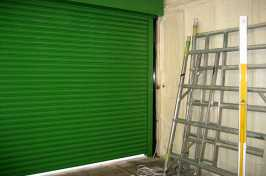 green security shutters
