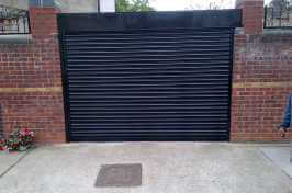 garden entrance residential roller shutters