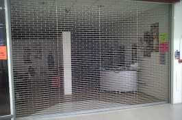 shop front security grille