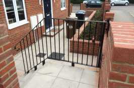 Handrail on a new build property